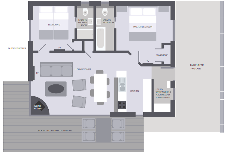 Widemouth floorplan